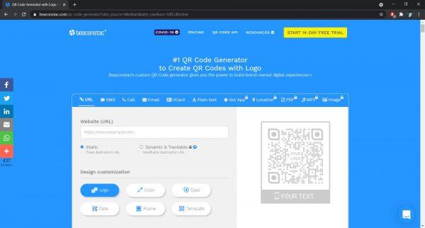 Best QR Code Generator: Beaconstac