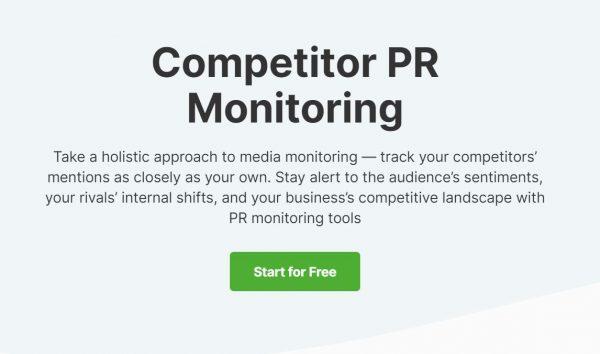 Competitor PR