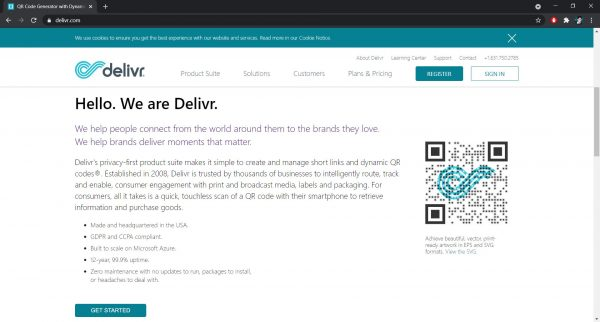 Best QR Code Generator: Delivr