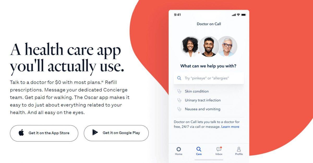 oscar health insurance App