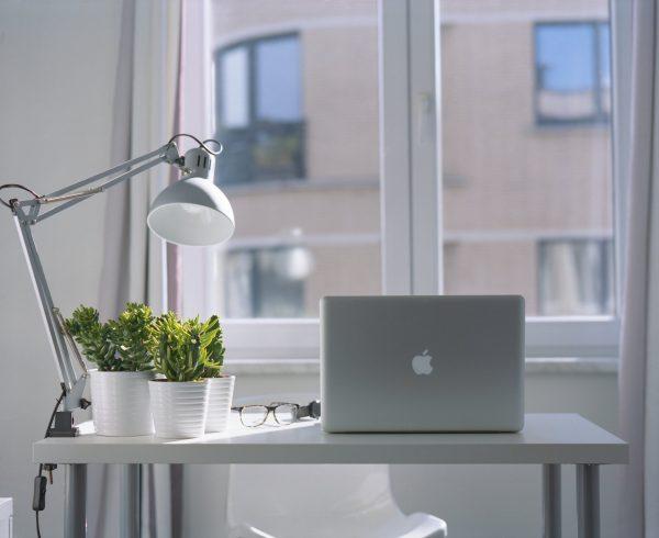 Mac on Table