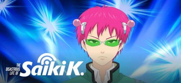 The Disastrous Life Of Saiki K best anime on netflix