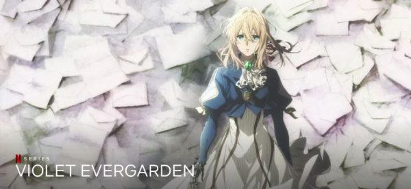 Violet Evergarden best anime on netflix