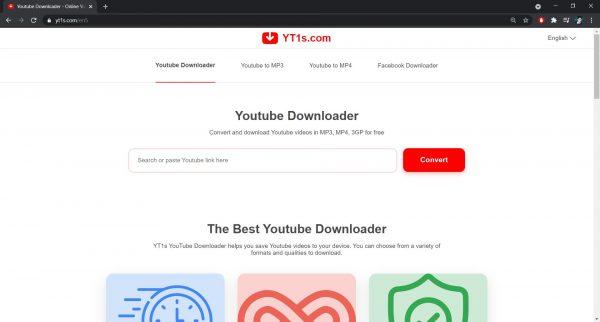 YT1s website