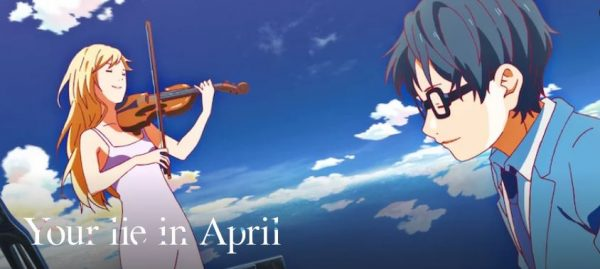 Your Lie In April best anime on netflix