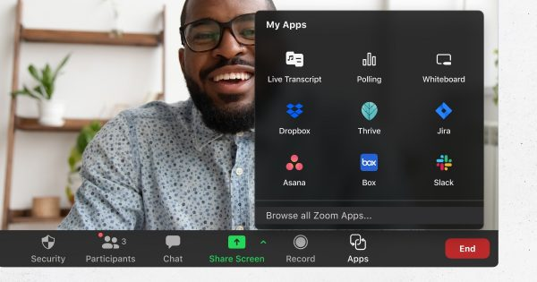 Zoom interface and apps