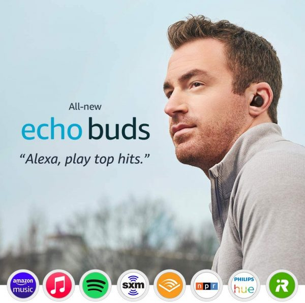 connect spotify amazon echo buds