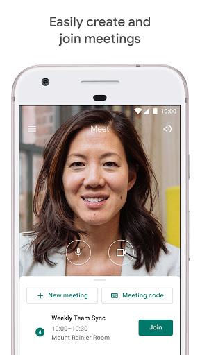 Google Meet mobile app