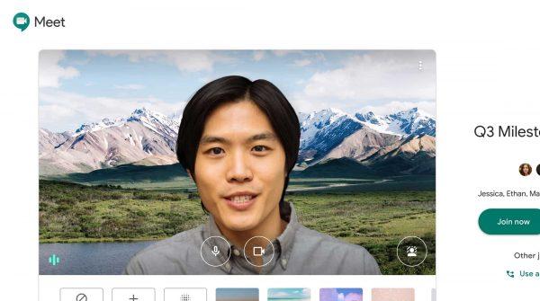 Google Meet video quality