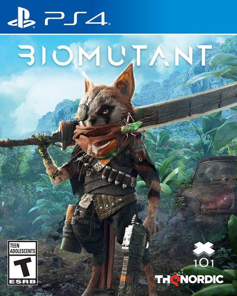 Biomutant gameplay PS4