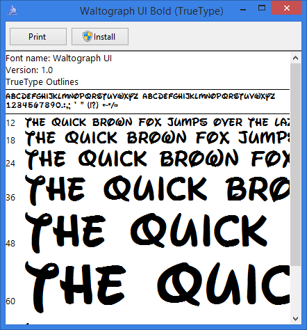 How To Install Fonts Windows 8