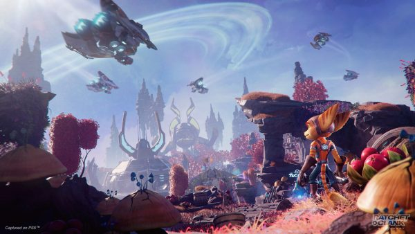 Ratchet and Clank Rift Apart Graphics