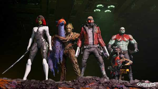 Guardians of the Galaxy game combat