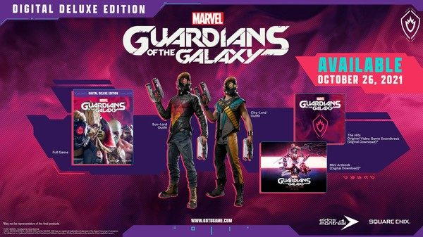 Guardians of the galaxy game deluxe