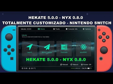 Hekate app switch homebrew