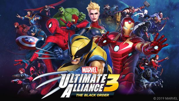 Marvel Ultimate Alliance 3: The Black Order Switch exclusives