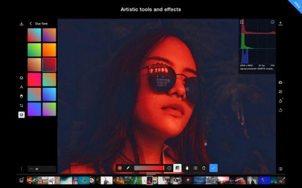 Polarr photoshop alternatives