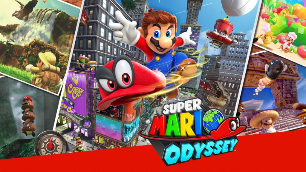 Super Mario Odyssey Switch exclusives