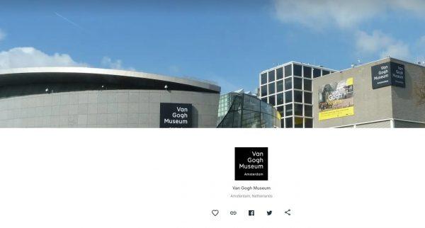 van gogh virtual museum tours