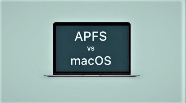 APFS Vs macOS