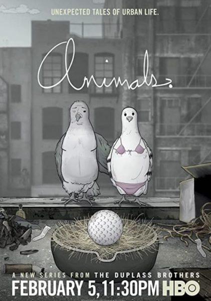 HBO adult cartoon Animals promo.