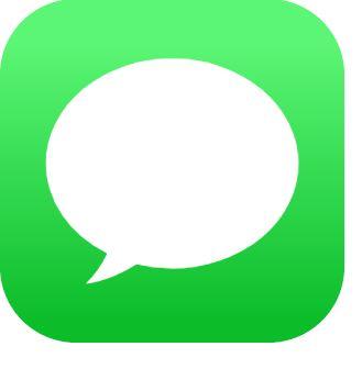 iMessage logo.