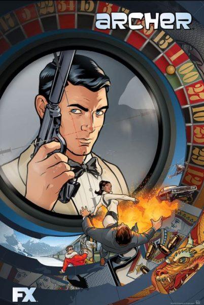 Adult cartoon Archer promo.