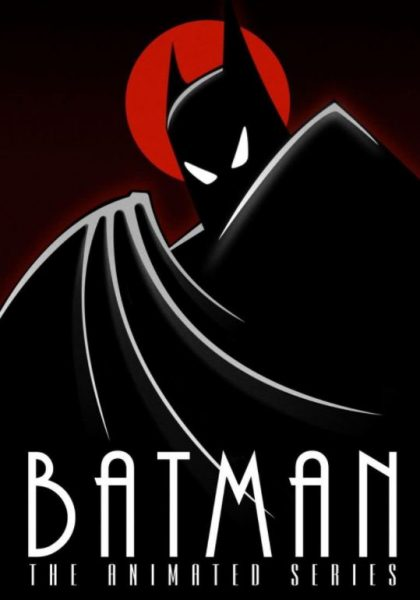 Batman: The Animate Series cartoon poster.