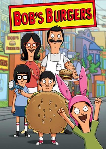 Adult cartoon Bob's Burgers title poster.