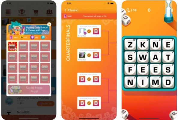 Boggle With Friends on iMessage.
