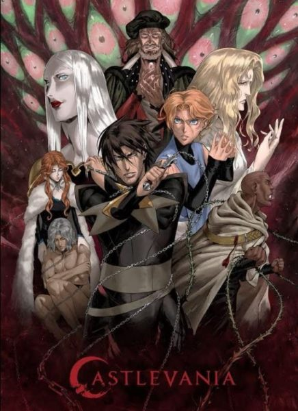 Castlevania cartoon poster.