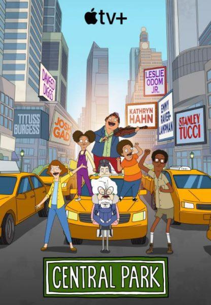 Central Park Apple TV+ cartoon promo.