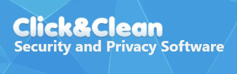 Click&Clean browser extension logo.