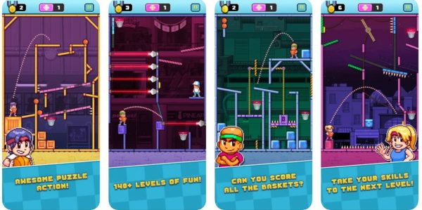 iMessage game Cobi Hoops.