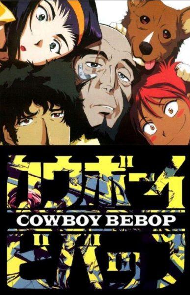 Cowboy Bebop cartoon poster.