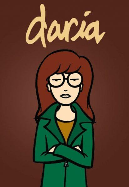 Daria cartoon title banner.
