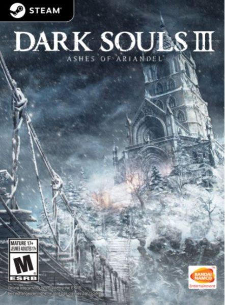 The Dark Souls III game.