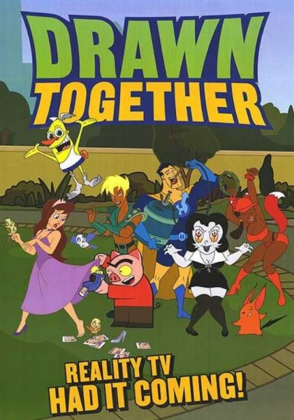Adult cartoon Drawn Together promo.