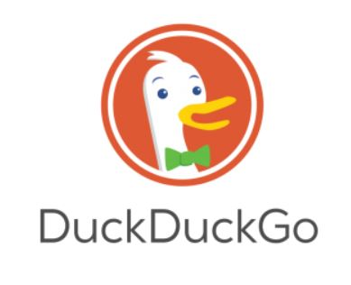 Private browser DuckDuckGo logo.