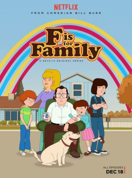 F is for Family Netflix promo.