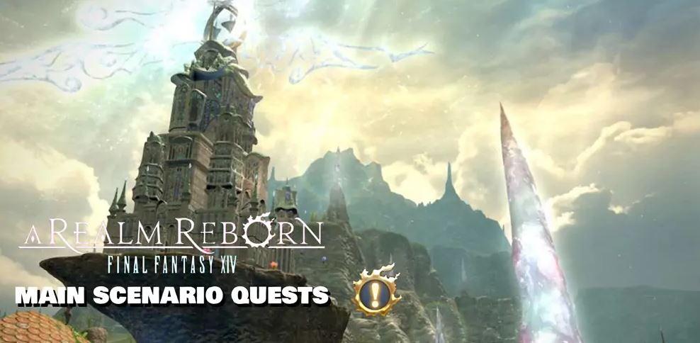 FFXIV Main Scenario Quests