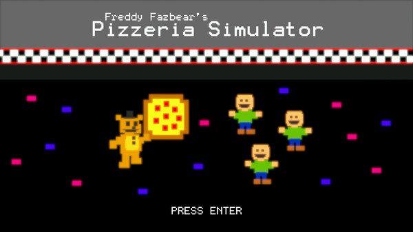 Freddy Fazbear's Pizzeria Simulator (2017)