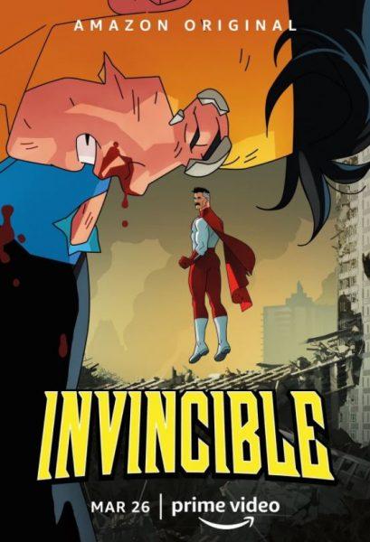 Adult cartoon Invincible Amazon promo.