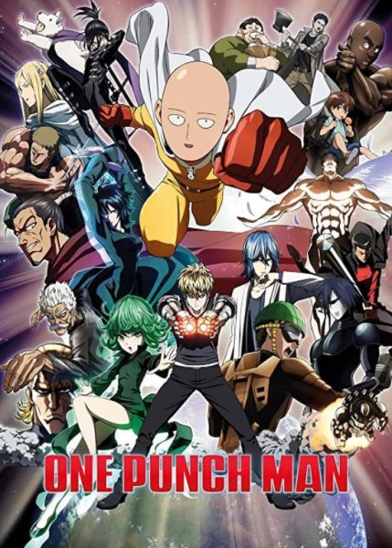 One Punch Man title.