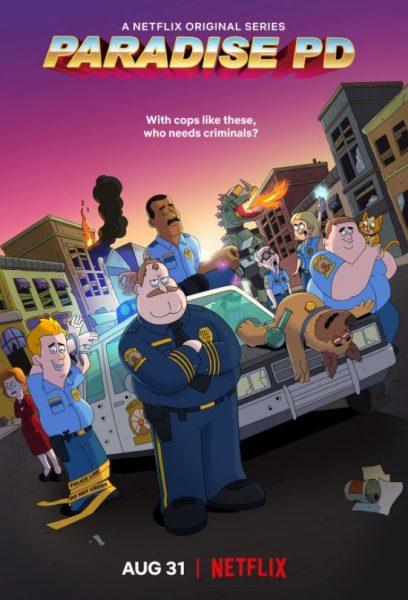 Adult cartoon Paradise PD promo.