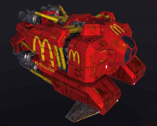 Platypus - The Fifth Element - McDonald's Delivery Truck