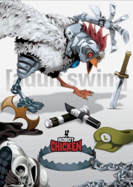 Robot Chicken Adult Swim promo.