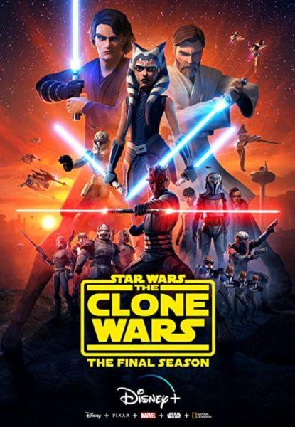 Star Wars The Clone Wars Disney cartoon promo.