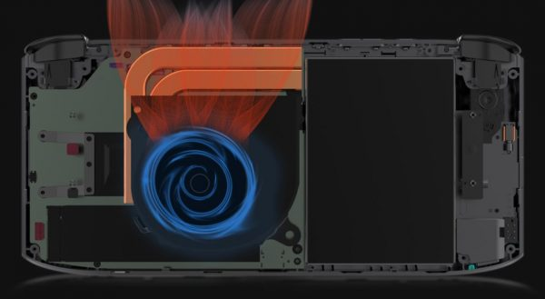 The turbofan cooling system in the Win 3.