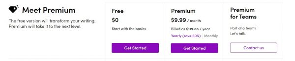 Wordtune Pricing